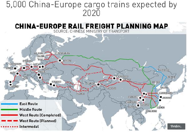 CHINA-EUROPE RAILWAY EXPRESS(2/2)
